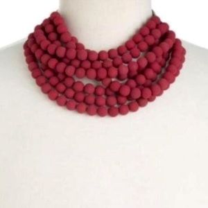 Fairchild Baldwin Bella Luxe Matte Beaded Necklace